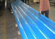 RAL 5015 Blue Aluminum Roofing Sheets Decoration Thickness 0.7mm Easy Processing