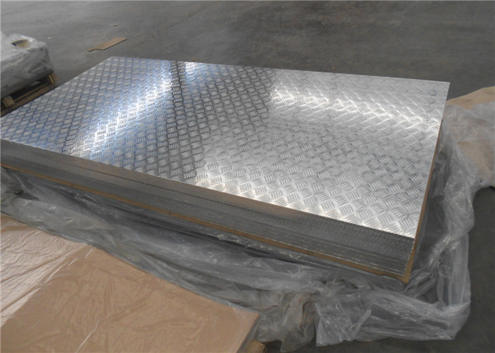 Stucco embossed aluminum sheet 3105 3003 H254  for railway / auto / ship