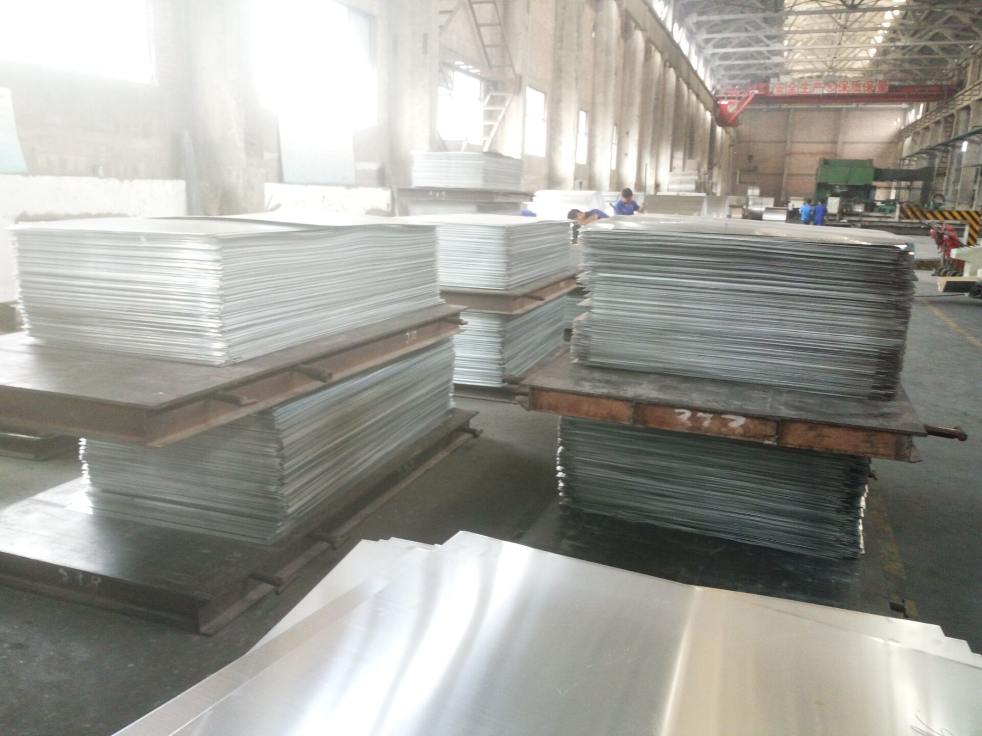 Embossed / Mill Finish 3003 Aluminum Sheet 3mm Corrosion Resistance For Building